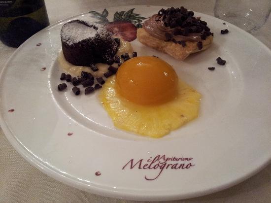 Agriturismo Il Melograno: tris di dolci!