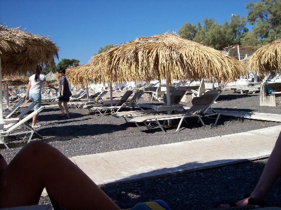 Perissa Beach: paradise