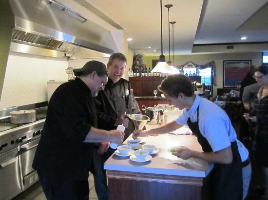 Chateau Chantal Winery & Tasting Room: Chef Perry & his team - fantastic meal!
