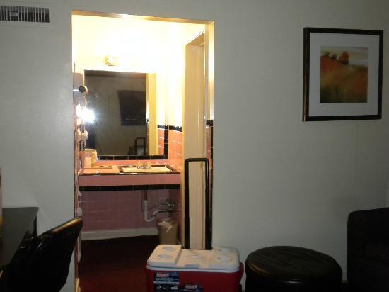 Flamingo Inn : the room