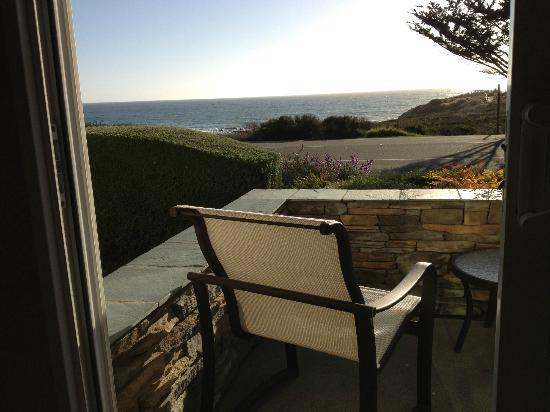 Fireside Inn on Moonstone Beach: You can hear the ocean from your room.
