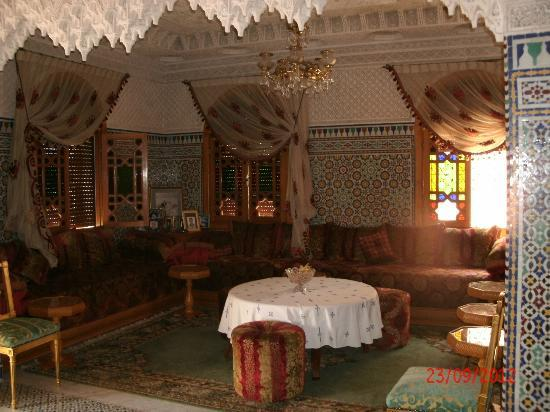 Riad Raouia : Eingangsbereich