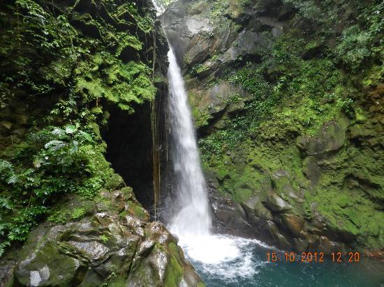 Hacienda Guachipelin: Caida de agua
