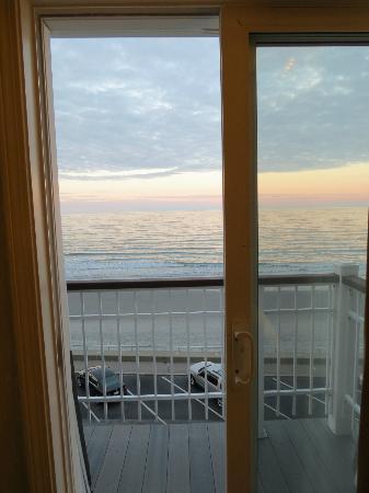 Nantasket Beach Resort: La vue de notre chambre