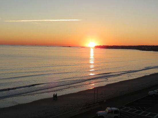 Nantasket Beach Resort: Levé du soleil