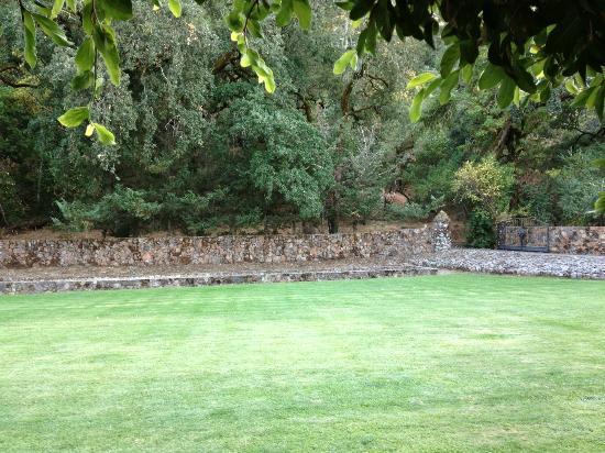 Spanish Villa Inn: Front lawn