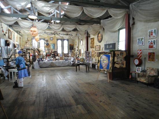 Grainstore Gallery: viel zu entdecken