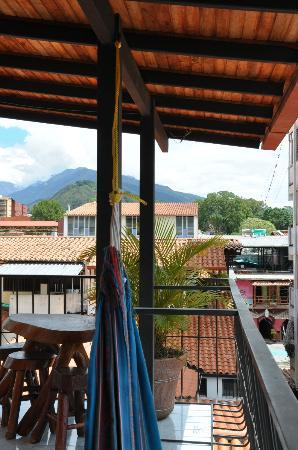 Posada Guamanchi: View to one side