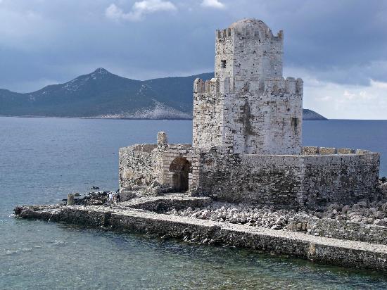 Methoni, Hellas: Mehoni Castle the Bourzi