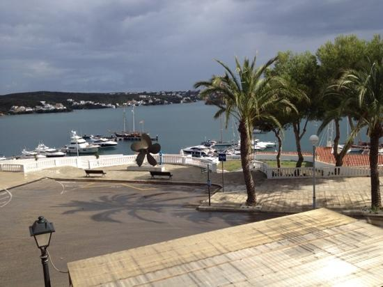 Hotel Port Mahon: view from terrace