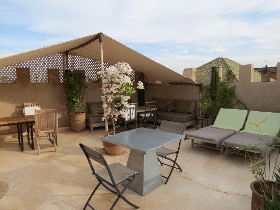 Riad Dar Massai: La terrasse