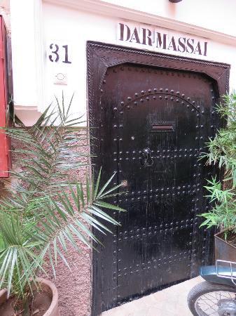 Riad Dar Massai: Porte d'entrée