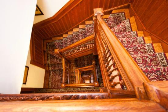 American Guest House: staircase