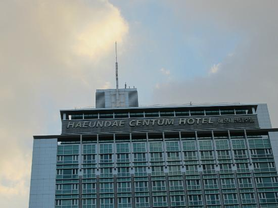 Haeundae Centum Hotel: from the outside