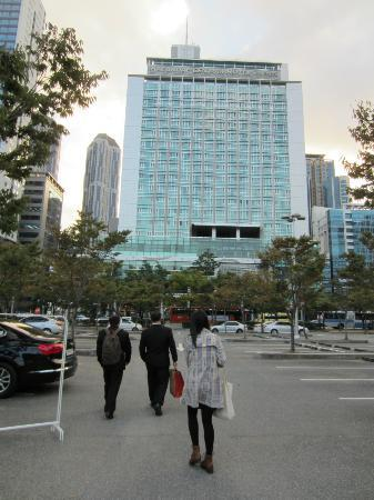 Haeundae Centum Hotel: full look from the outside