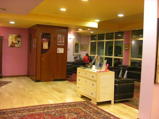 Hotel Porta Palio: Reception