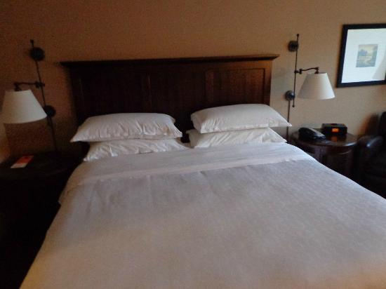 Sheraton Herndon Dulles Airport Hotel: and bed for good sleep