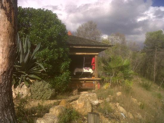 Ibiza Yoga: my little wooden hut