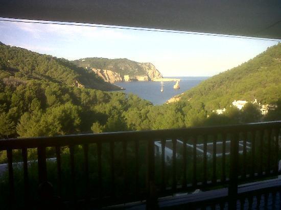 Ibiza Yoga: view from the yoga deck at Villa Palma