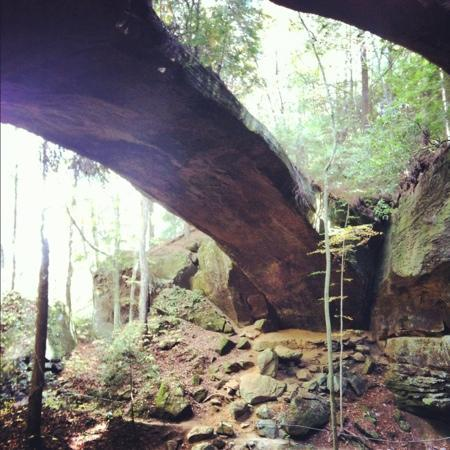 Natural Bridge Park Natural Bridge Alabama