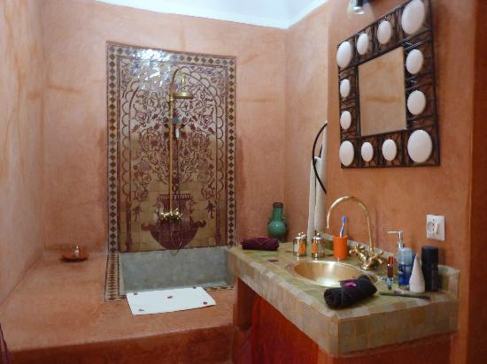 Riad El Zohar: Amazing bathroom