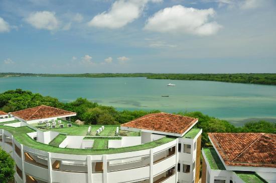 Royal Decameron Baru: view from balcony