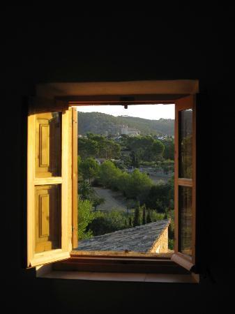 Can Estades: Aussicht Richtung Calvia