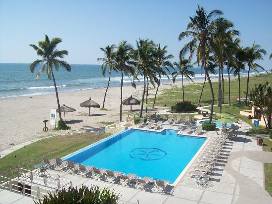Estrella Del Mar Resort Mazatlan: View from our room