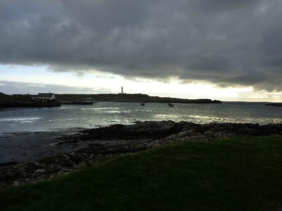 Orsay from An Tigh Seinnse, Portnahaven, early evening.