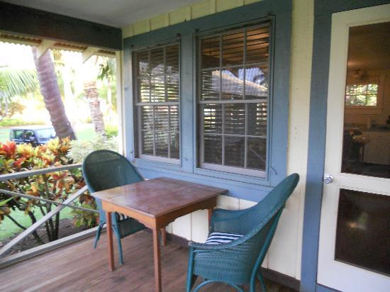 Waimea Plantation Cottages: Our Lanai