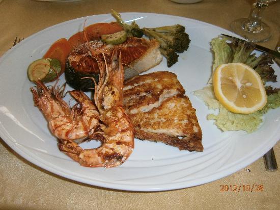 Ocean seafood restaurant Amman-grilled seafood