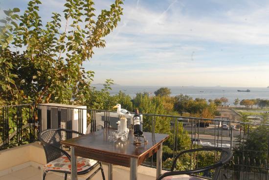 Seatanbul Apart: deniz manzarası