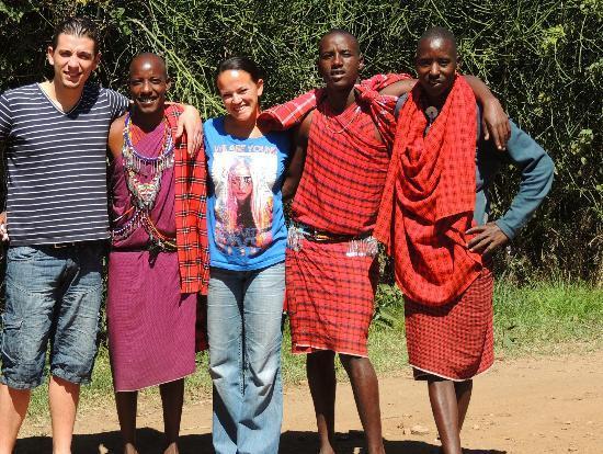 Oloshaiki Camp: geweldige staf!