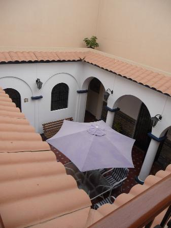 Mami Panchita: patio