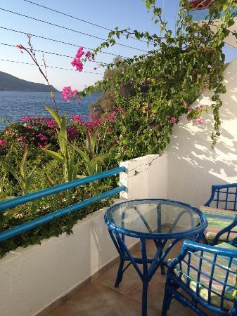 Faros Hotel: Room balcony
