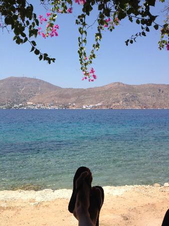 Faros Hotel: Reastaurant view