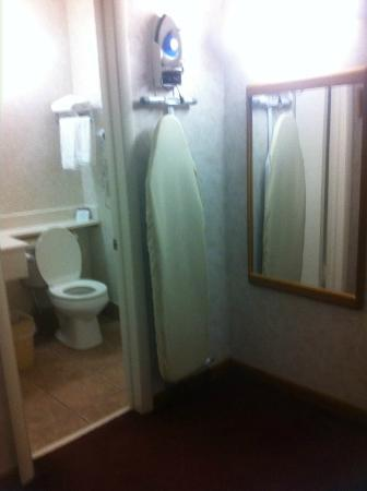 Americas Best Value Inn Ashtabula/Austinburg: Bathroom area