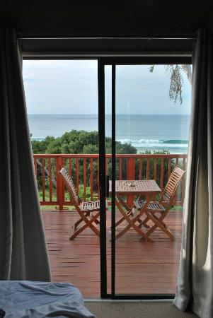 Crawford's Beach Lodge: from the room