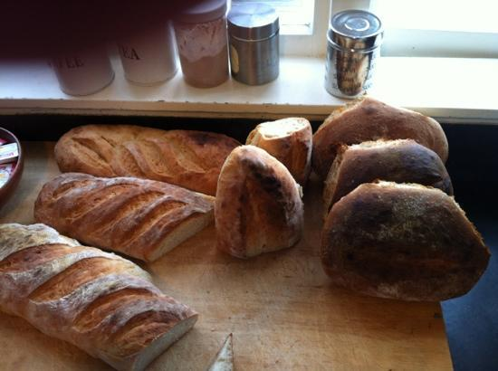 KIWI basecamp: nothing better than waking up to the smell of bread out the oven