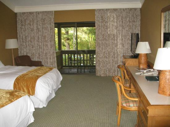 The Woodlands Resort: Lovely room