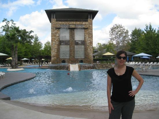 "The Woodlands Resort & Conference Center: Fabulous pool area and ""water slide"""