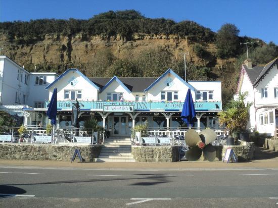 The Steamer Inn Restaurant Shanklin Seafront