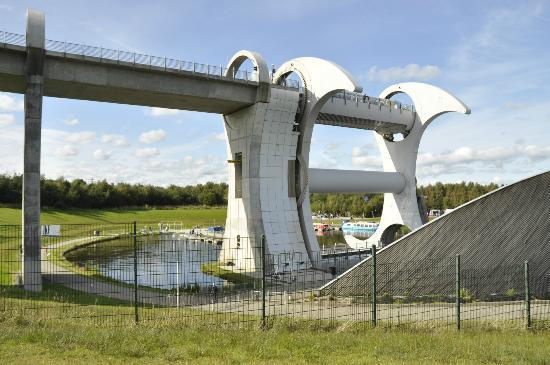 Lismore House B&B : The Falkirk Wheel