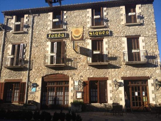 Hotel Fonda Siques : El Hostal