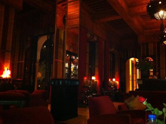 Piano Bar Picture Of Les Jardins De La Koutoubia Marrakech