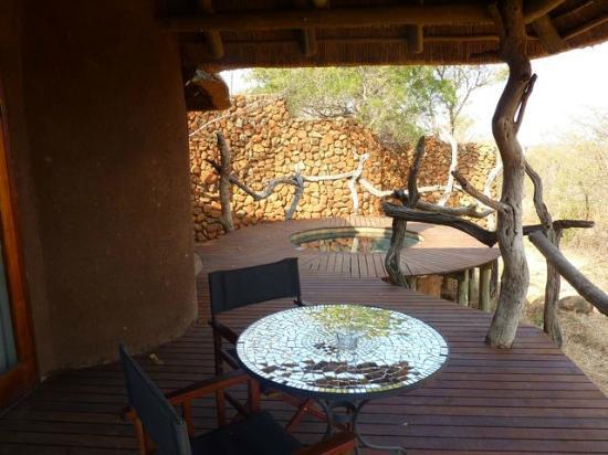 Madikwe Safari Lodge: Terrazzo della camera 3