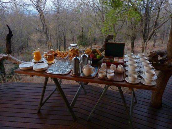 Madikwe Safari Lodge: La colazione