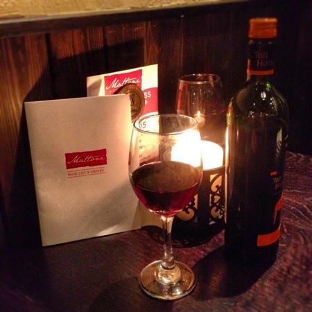 Mattoni Italian Restaurant: Excellent wine & service!