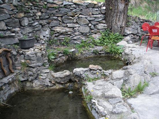 la cantina dels racons: agua