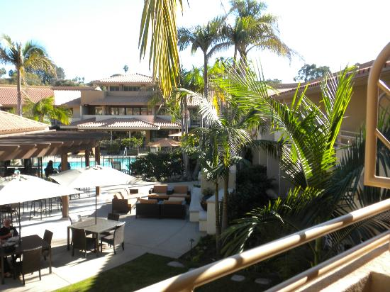 Courtyard San Diego Del Mar/Solana Beach: View from our room